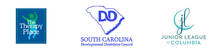 The Therapy Place, SC Developmental Disabilities Council, Junior League of Columbiaa